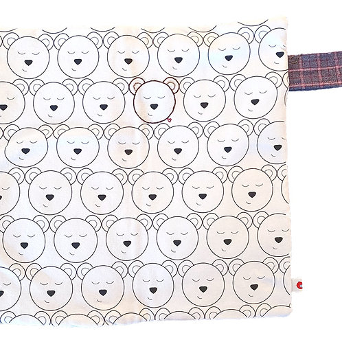 Bear Lovie Blanket