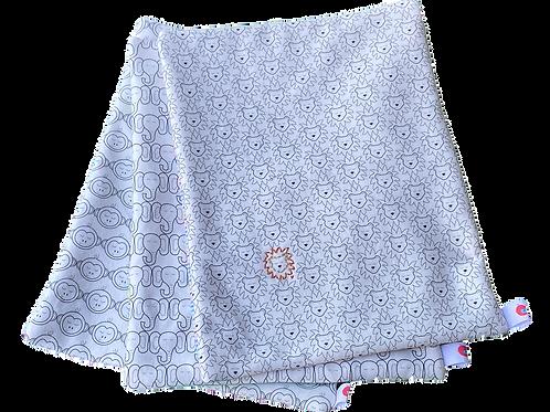 Circus Animal Mini-Blankets