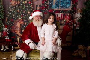 Santa, Newborn, Baby, Kids, Family