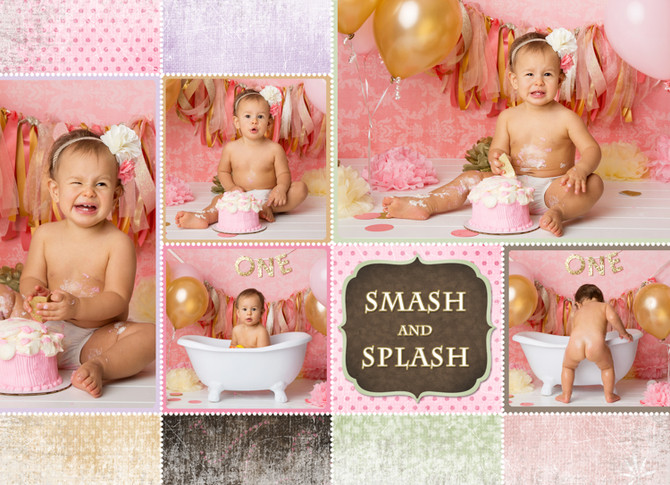 Smash Cake | Local Newborn Photography