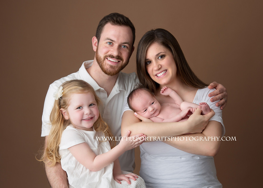 Lake County Newborn Family Photographer