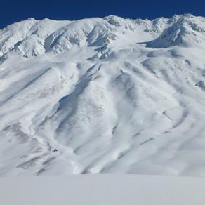 新雪 立山 初滑り