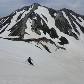 2021/6/6 立山 滑り納め Vol,2