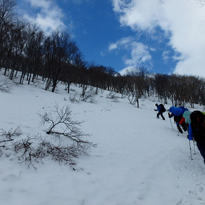 スキーで行きたい山
