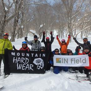 Mountain Hardwear × IN Field BC入門ツアー 2018