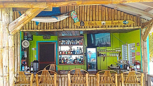 Black Pearl Restaurant & Bar, King Lewey's Island Resort, Placencia Belze