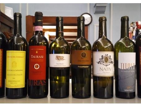 Aglianico Wine Results, Feb. '17