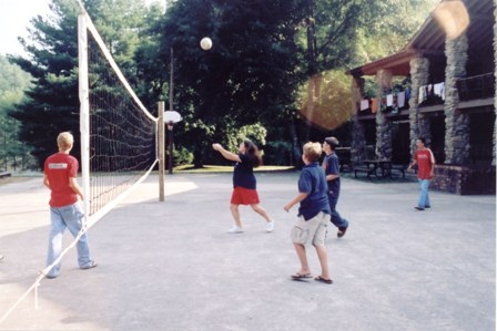 Volleyball at Chateau