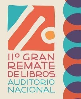 ¡Remate de libros en el Auditorio Nacional!