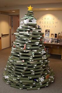 5 ideas para decorar en Navidad con libros