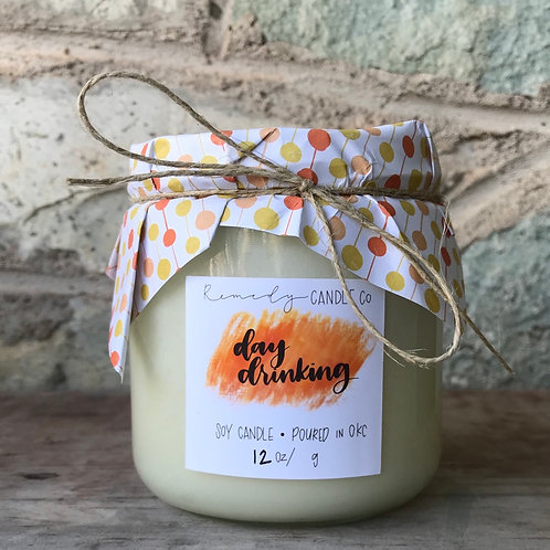 Day Drinking Soy Wax Candle