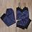 Thumbnail: Lace Silk Satin Nighty Cami Set Women Sexy pajamas
