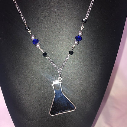 Erlenmeyer Flask Necklace