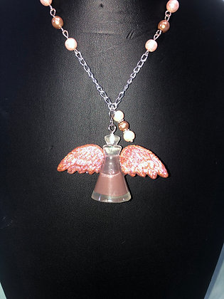 Winged Liquid Potion Necklace