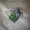 Thumbnail: Serenity of the White Lotus Keychain