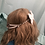Thumbnail: Convertible Bow Ear Saver (White)