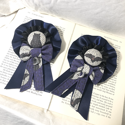 Halloween Stained Glass 2 way Rosette