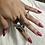 Thumbnail: Framed Butterfly Ring (Blue)