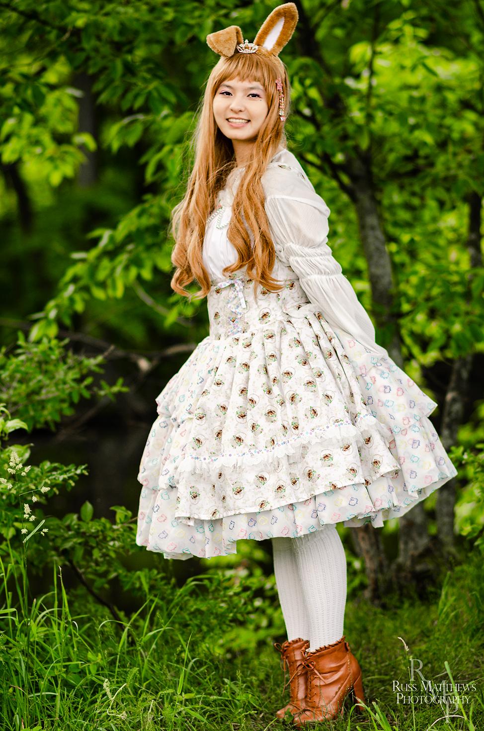 Lolita Springtime Bun Buns