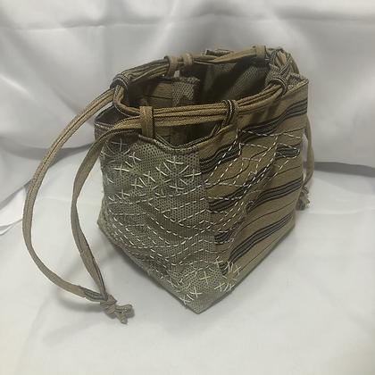 Recycled Kimono Kinchaku bag *SECONDS*