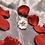 Thumbnail: White Sakura Kanzashi Ring