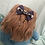 Thumbnail: Halloween Stained Glass Bow Style Ear Saver