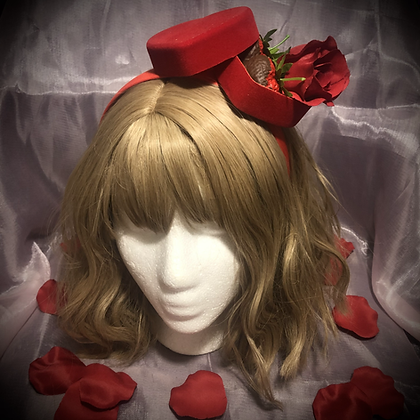 Will you be my Valentine Headpiece