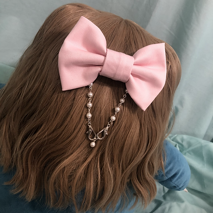 Convertible Bow Ear Saver (Pink)