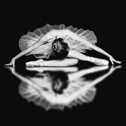 danseuse noir et blanc