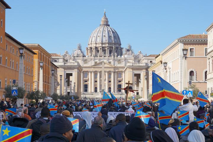 Sun., Feb. 11: CONGOLESE MARCH IN ROME