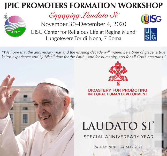JPIC Formation Workshop: Engaging Laudato Si'