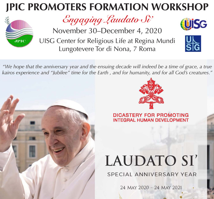 JPIC Promoters Formation Workshop: Nov. 30–Dec. 4