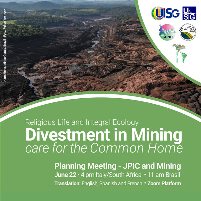 Divestment in Mining - Care for the Common Home