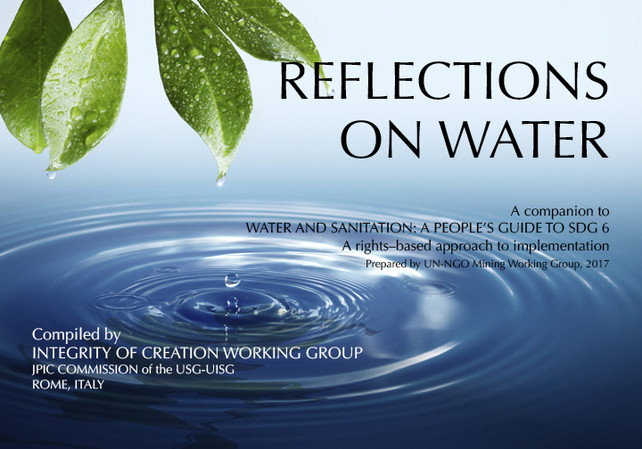 Booklet: REFLECTIONS ON WATER