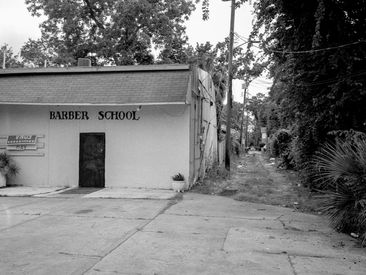 barber school. savannah, ga.