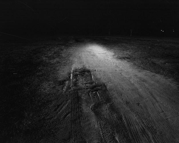 night road. savannah, ga.