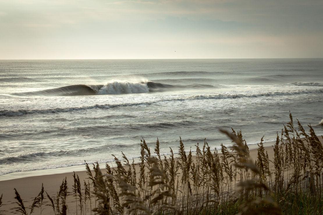 hurricane swells.