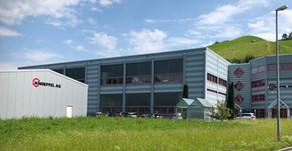 Lagerhallen-Neubau fertiggestellt.
