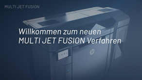 Multi Jet Fusion Verfahren