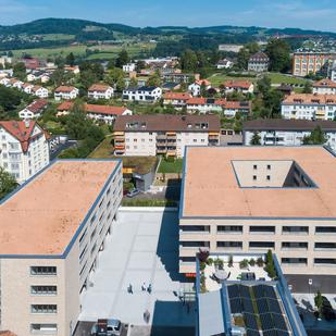57 Neubauwohnungen, Ulmenstrasse St.Gallen