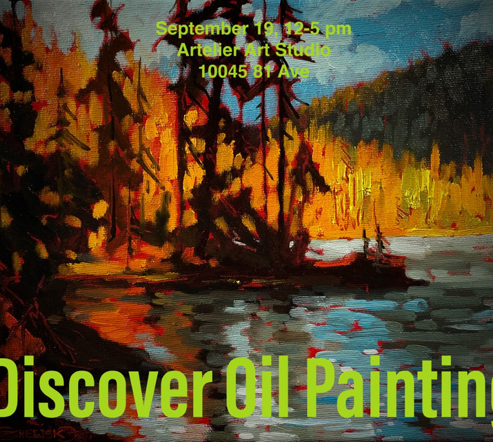 Discover Oil Painting workshop