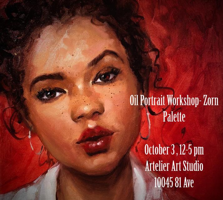 Oil Portrait Workshop - Zorn Palette