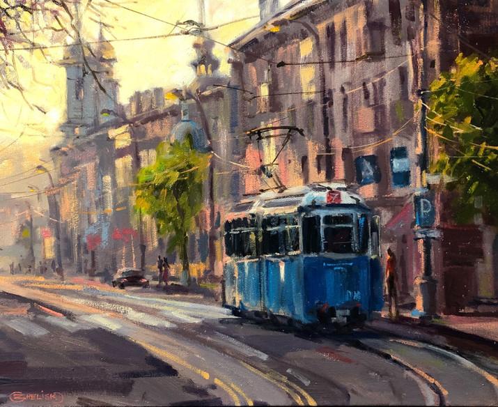 An Early Tram