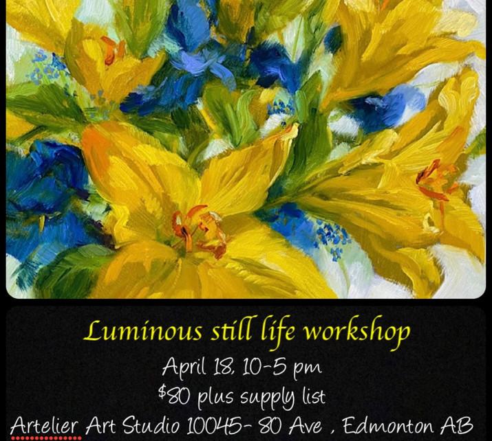 Luminous Life - still life workshop