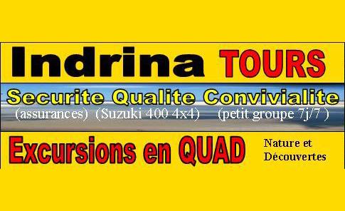 INDRINATOURS excursions en QUAD