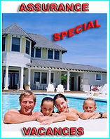 Assurance spécial vacances, annulation, maladie