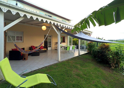 Appartement Les Ibis, location saisonnière Rivière salée, sud Martinique