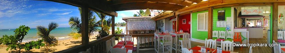 restaurant bord de mer villa ge des pêch