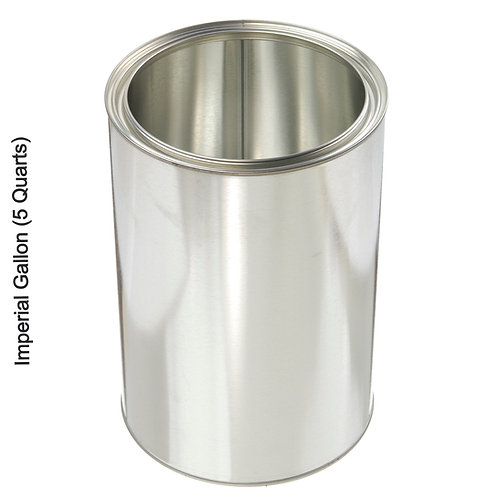 Unlined Paint Cans- Bulk Packed