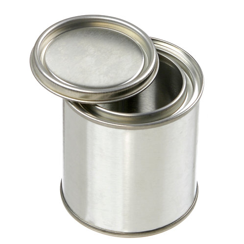 Prepacked Paint Cans with Lids